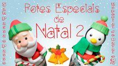 DIY - Pote PRESENTE/ LEMBRANÇA DE NATAL 2 - Sah Passa o Passo especial de Natal #04 - YouTube