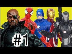 #1 Máquina de Combate Homem Aranha Capitão América Guerra Civil Homem de...