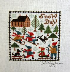 "Prairie Schooler ""Snow Day"""