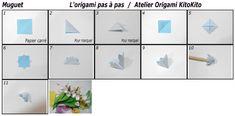 Atelier Origami KitoKito Diagramme Muguet