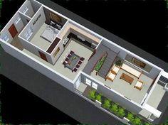 ban ve nha cap 4 co gac lung dep 0453 Smart Home Design, Small House Interior Design, Home Room Design, Modern House Design, Narrow House Designs, Narrow House Plans, Model House Plan, Townhouse Designs, Micro Apartment