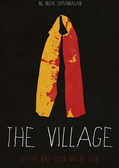 The Village #minimal #movie #poster
