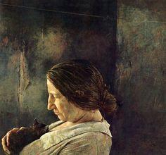 ANDREW WYETH (b. American realist painter of barren rural scenes. Major works include Tenant Farmer on Dec 2006 Andrew Wyeth Paintings, Andrew Wyeth Art, Jamie Wyeth, Nc Wyeth, Le Far West, Art Moderne, Museum Of Modern Art, Art Plastique, Portrait Art