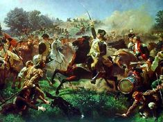 28 June 1778 - Battle of Monmouth, New Jersey - Indecisive battle near Monmouth Courthouse. American troops under General George Washington fought British troops under General Henry Clinton. The British had left Philadelphia en route to New York. The Americans were pursuing from Valley Forge, their goal to stop the British advance.