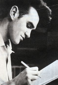 The Smiths beautiful Morrissey Moz