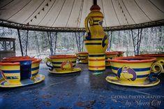 teacup ride Spreepark Berlin