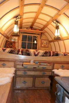 caravan interior 864057878495622069 - 45 Vintage Caravan Interiors Gypsy Wagon Remodel , Source by Gypsy Living, Tiny House Living, Small Living, Rv Living, Living Spaces, Caravan Vintage, Vintage Caravans, Vintage Campers, Vintage Airstream