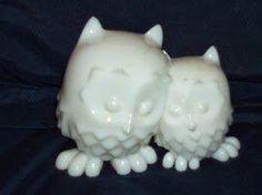 My first print on my #Afinia printer! Cuddly owls. #3dprinting @Afinia 3D Printers