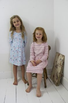 Their Nibs Unicorn and Prairie Stripe Print Jersey Dresses from AW'17 Collection.