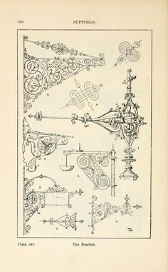 A handbook of ornament The supports the bracket pg 240
