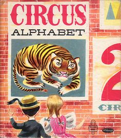 Circus Alphabet, Illustrations by Patric Hudson, 1954- Cover