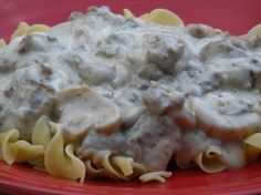 Best Beef Stroganoff Can hardly wait to make this! After reading the reviews I'll use 3 cloves garlic, only 1/3 cup sour cream, more pepper, and I'll add 1 tablespoon Worcestershire, if I need to add any liquid I'll use beef broth....this sounds yummy!