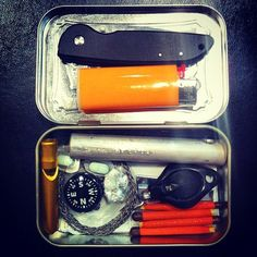 How to Build Your Own Altoids Tin Survival Kit | Man Made DIY | Crafts for Men | Keywords: safety, survival, camping, altoids