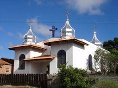 Igreja ucraniana do bairro Boqueirão, em Guarapuava