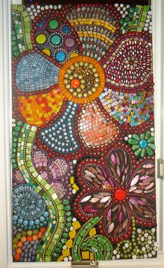 Mosaic Art  Flowers in Motion by BrokenBeautyMosaics on Etsy, $2500.00