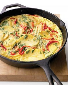 Spanish Tortilla with Bell Pepper Recipe