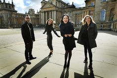 """WATCH: The Corrs left """"breathless"""" by stunning grounds and palace ..."""