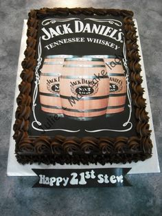 Chocolate Mud Cake with A3 custom topper