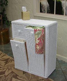 Amazon.com: Wicker Cottage Hamper (Antique): Storage & Organization