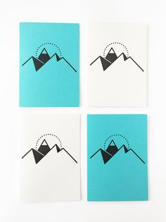 Lane Letterpress Sundlaug Coffee Christmas Card - Pack of Four