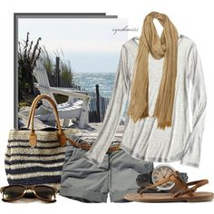 """""""Salty Breeze"""" by cynthia335 on Polyvore"""