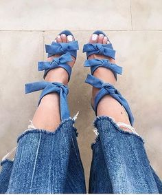 Double denim  #rg @erinadamsonshoes  via MARIE CLAIRE MAGAZINE OFFICIAL INSTAGRAM - Celebrity  Fashion  Haute Couture  Advertising  Culture  Beauty  Editorial Photography  Magazine Covers  Supermodels  Runway Models