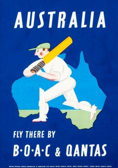 B.O.A.C & Qantas ~ Australia 1953.