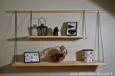 DoberMami: DIY seinähylly ja ensimmäisen adventin viettoa