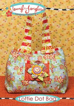 New Lottie Dot Bag Pattern By Jennifer Jangles on Luulla