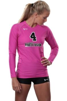 Vision Volleyball jersey pink 1221.75 Rox Volleyball