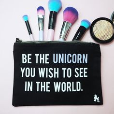 Be The Unicorn Make Up Bag ✨