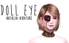 Natalia_Auditore - Doll Eye my mesh find it on face accs 11 colours. Sims Free Play, Sims 4 Cc Packs, Sims 4 Mm Cc, Sims Challenge, Sims 4 Anime, Sims 4 Gameplay, The Sims 4 Download, Sims 4 Cc Finds, The Sims4