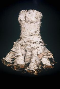birch bark dress