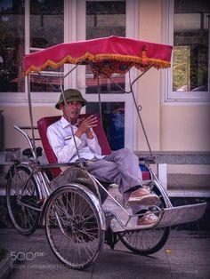 Popular on 500px : The rickshaws driver by loureirogc