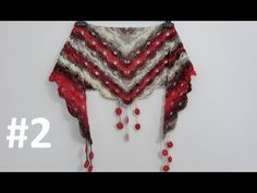 All New Knitting How to Knit - Crochet Virus Shawl and Foulard Knitted Shawls, Crochet Scarves, Crochet Shawl, Free Crochet, Knit Crochet, Free Knitting, Baby Knitting, Crochet Designs, Crochet Patterns