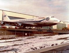 The 500th Boeing 747 going to Scandinavian Airlines back in 1981 - Photo: Boeing