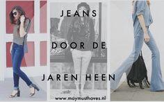 Jeans door de jaren heen