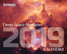 2019 Deep Space Mysteries Calendar Astronomical Events, 2019 Calendar, Calendar Wall, Spiral Galaxy, Star Images, Space And Astronomy, Calendar Organization, Deep Space, Meteor Shower