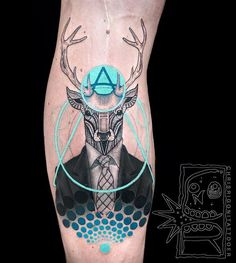 Deer and Antler Tattoo Ideas#1. Minimalist Style Antler Tattoo on the HandMinimalism brings a new breath in tattoo art – the combination of geometry and monochrome emphasizes the beauty of this quite small antlers image on the elbow. The stress is done on the content but not a form of tattoo...
