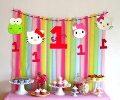 Hello Kitty Birthday Party Ideas Hello kitty birthday party