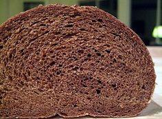 Dark Paleo Pumpernickel Rye Bread. Gluten-Free, Grain-Free, Low-Carb.