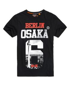 Superdry Camiseta de edición limitada Osaka Berlin