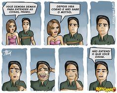 Satirinhas - Quadrinhos, tirinhas, curiosidades e muito mais! - Part 51