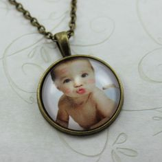 Hey, I found this really awesome Etsy listing at https://www.etsy.com/listing/473228807/custom-photo-pendant-baby-portrait