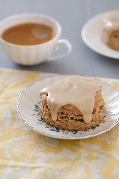 Banana Scones with Browned Butter Glaze | Annie's Eats by annieseats