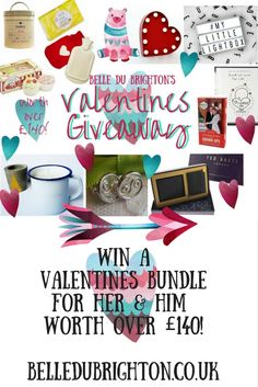 Belle du Brighton BlogWin a Valentines Bundle worth over £140!