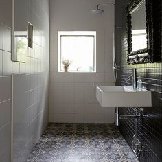Bathroom | Sleek contemporary home in Stockholm | House tour | PHOTO GALLERY | Livingetc | Housetohome.co.uk