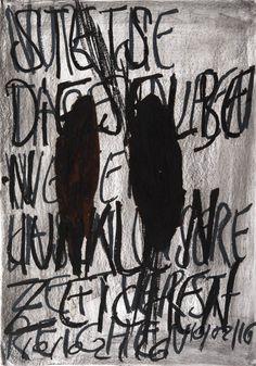 YOSEF JOSEPH DADOUNE   II glands 10/02/16   Pastels on Nostalgique Hahnemühle paper  59,4 x 84,1cm (A1) - 190g/m²  Photographer: Yigal Pardo