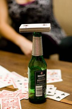 Camping Drinking Games: Blow Hard Cards - Image by bitchplz May need to remember these for rainy days at the camper