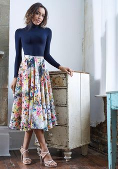 This beautiful flowing skirt is perfect for so many occasions. It can be made to your precise measurements, so you know it will flatter your figure. Dress it up for a special occasion or down for a relaxed feel, and always feel pretty. Use a soft cotton lawn or why not try a silk for a luxe look?